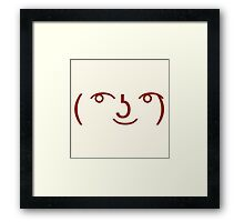 Many Meanings Framed Print