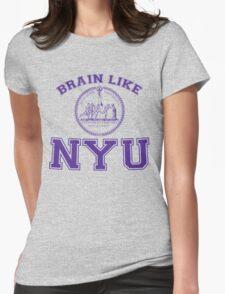 Brain Like NYU Womens Fitted T-Shirt