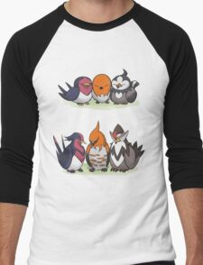 Pokémon Generation Birds Men's Baseball ¾ T-Shirt