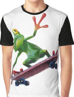 frog skateboard Graphic T-Shirt