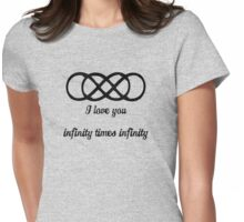 Revenge-infinity times infinity Womens Fitted T-Shirt