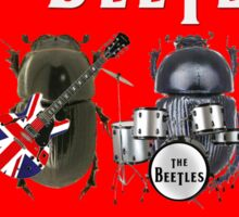 The Beetles Sticker