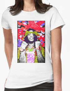 YUNG FLOCKA Womens Fitted T-Shirt