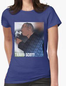 Trav $. Womens Fitted T-Shirt