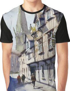 Church Street, Shrewsbury, England Graphic T-Shirt