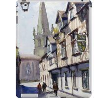 Church Street, Shrewsbury, England iPad Case/Skin