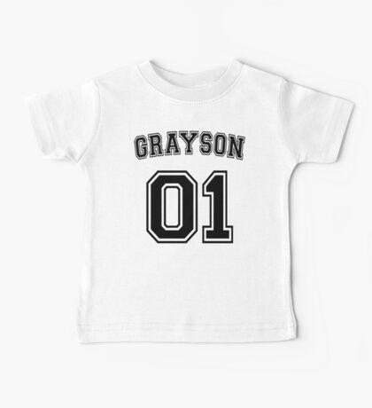 Dick Grayson Sports Jersey Baby Tee