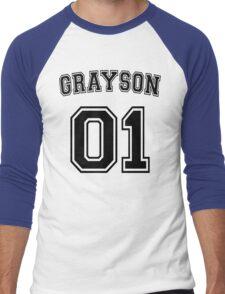 Dick Grayson Sports Jersey Men's Baseball ¾ T-Shirt