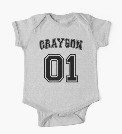 Dick Grayson Sports Jersey One Piece - Short Sleeve