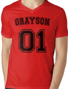Dick Grayson Sports Jersey Mens V-Neck T-Shirt