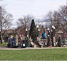 Punxsy Square at Christmastime by vigor