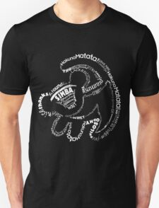 Simba Typo B&W T-Shirt