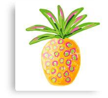 Pineapple Canvas Print