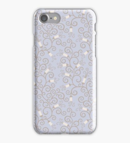 Bluebells in pastel colors iPhone Case/Skin