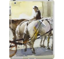 Fiakers of Vienna iPad Case/Skin