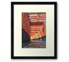 Fushimi Inari Shrine Kyoto Framed Print