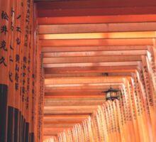 Fushimi Inari Shrine Kyoto Sticker