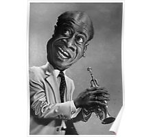 Louis Armstrong Poster