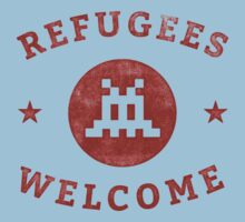 Refugees Welcome! One Piece - Short Sleeve