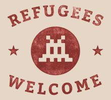 Refugees Welcome! by sebisghosts