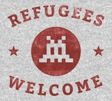 Refugees Welcome! One Piece - Long Sleeve