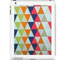 Triangle mayhem iPad Case/Skin