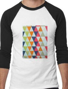 Triangle mayhem Men's Baseball ¾ T-Shirt