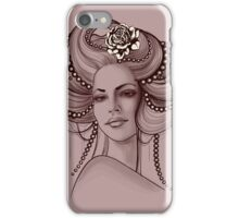Portrait of Woman #8 iPhone Case/Skin