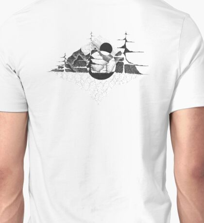Mountains in a world of their own Unisex T-Shirt