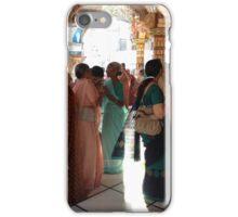 women at a hindu temple, india iPhone Case/Skin
