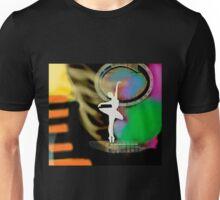 A Bailarina do Sótão - Music Colors Unisex T-Shirt