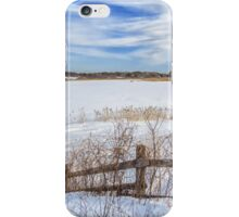Bill Forward Pool of winter snow iPhone Case/Skin