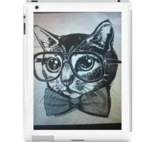Nerd kitten  iPad Case/Skin