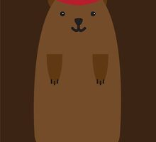 Happy Groundhog's Day » Brown on Brown Edition by tinyflyinggoats