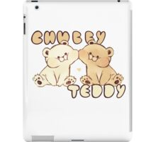 Chubby Teddy iPad Case/Skin