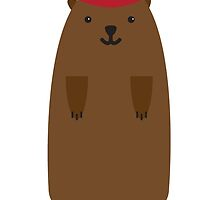 Happy Groundhog's Day » Classic White Background Edition by tinyflyinggoats