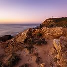 On a Hilltop - Cape Schanck, Victoria, Australia by Sean Farrow