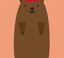 Happy Groundhog's Day » Orange Wallpaper Edition by tinyflyinggoats