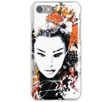 Portrait of Woman #11 iPhone Case/Skin