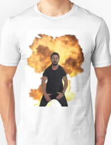 Shia Labeouf Just Do It Explosion Unisex T-Shirt
