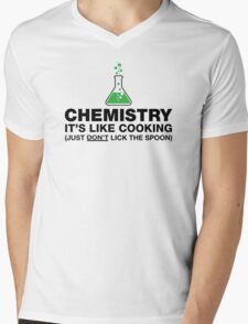 Funny Chemistry, Science Humor Mens V-Neck T-Shirt
