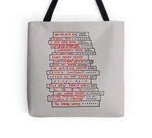 Haruki Murakami Book Fan Tote Bag