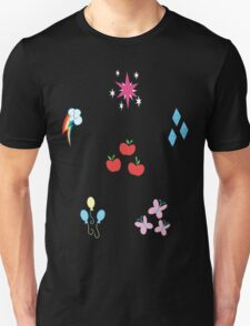 My little Pony - Elements of Harmony Cutie Mark Special T-Shirt