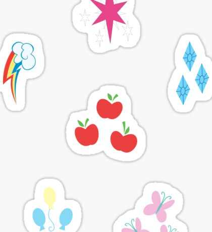 My little Pony - Elements of Harmony Cutie Mark Special Sticker