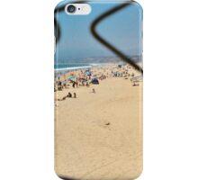 Beach Through a Broken Fence iPhone Case/Skin