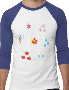 My little Pony - Elements of Harmony Cutie Mark Special V2 (Sunset Shimmer) Men's Baseball ¾ T-Shirt