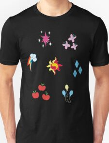 My little Pony - Elements of Harmony Cutie Mark Special V2 (Sunset Shimmer) Unisex T-Shirt
