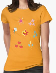 My little Pony - Elements of Harmony Cutie Mark Special V2 (Sunset Shimmer) Womens Fitted T-Shirt