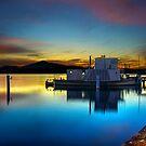 Sunrise over PS Enterprise by Stuart Row