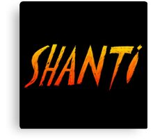 Colorful Shanti Canvas Print